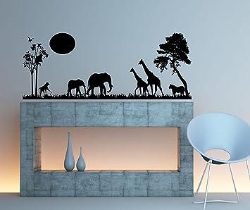 Safari Scene Wall Decal Home Decor 13 Quot