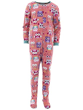 Amazon.com  Komar Kids Girls  Big Plush Velour Fleece Footed Blanket  Sleeper Pajama  Clothing f2b27a310