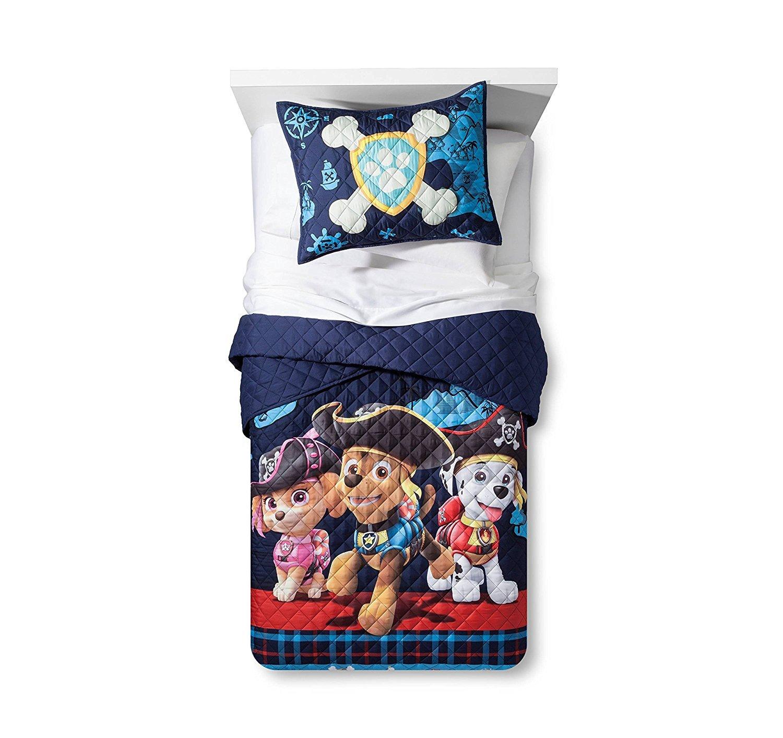 6-pc Paw Patrol Pirate Pups Full Size Quilt Set & Full Size Sheet Set