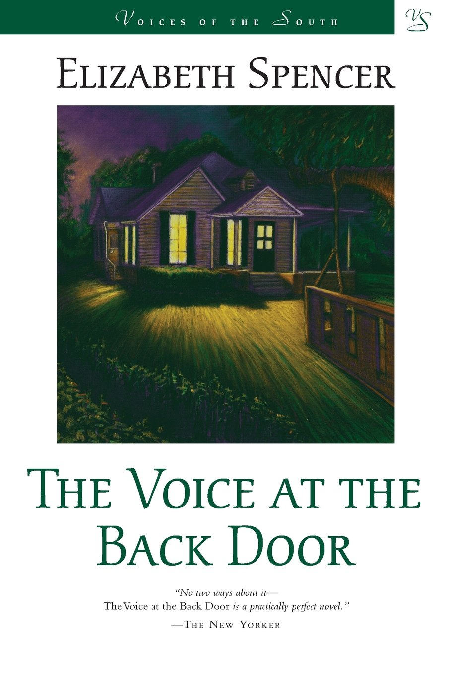 The Voice At The Back Door A Novel Voices Of The South Elizabeth