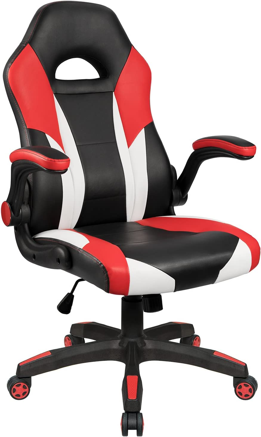 Homall Gaming Chair Office Computer Chair Racing Desk Chair Ergonomic High  Back Adjustable Swivel Chair PU Leather Executive Chair for Adults with