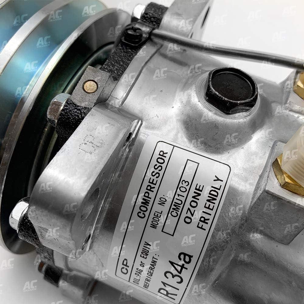 CLIMAPARTS CMU103 A//C COMPRESSOR 5H11//507 P//V 12V R134