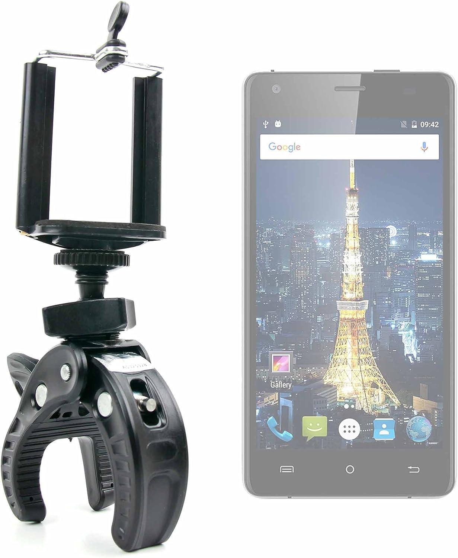 DURAGADGET Soporte Universal Tipo Pinza para Manillar de Bicicleta para Smartphone Cubot King Kong/Cubot Echo/Oukitel Mix 2: Amazon.es: Electrónica