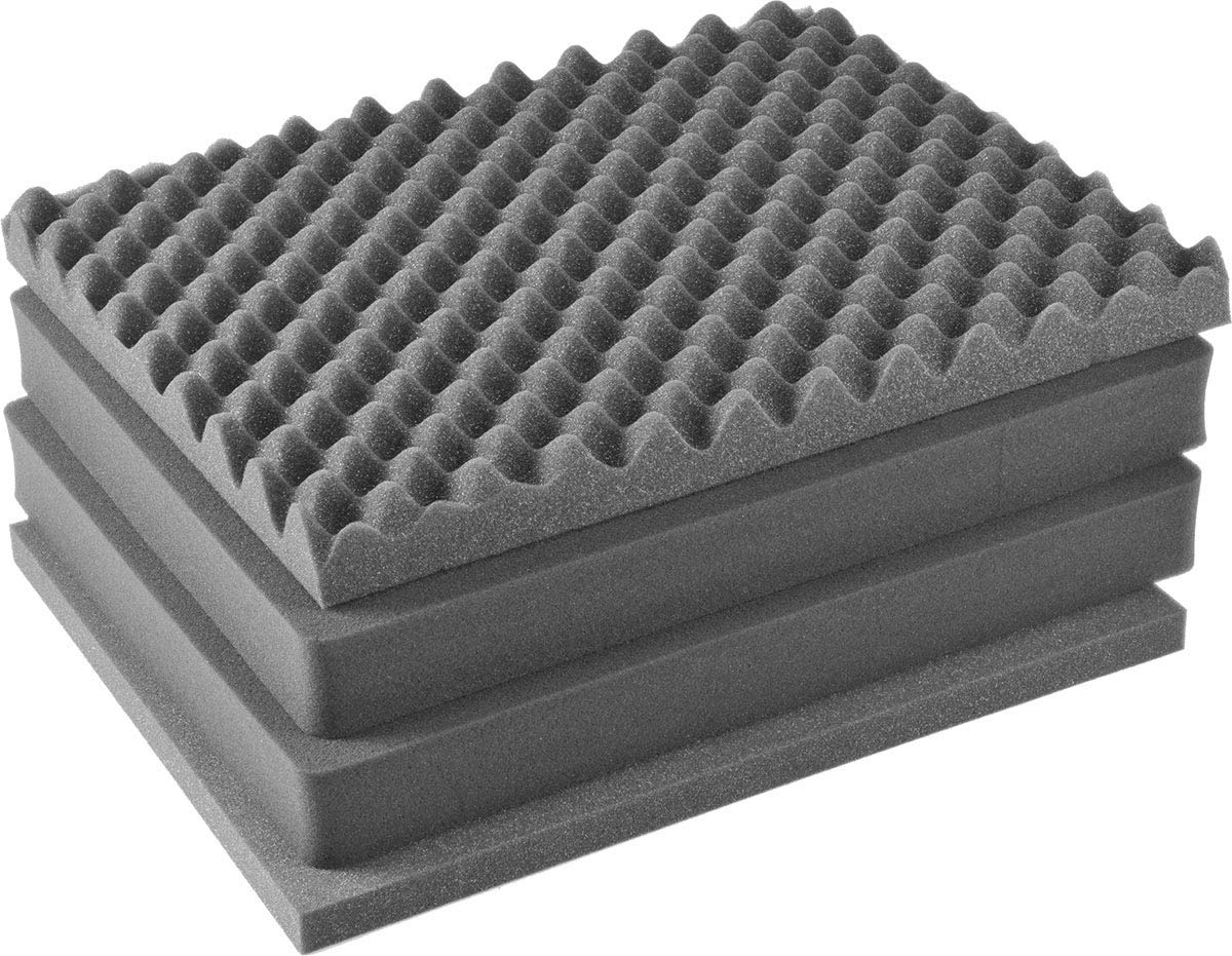 Pelican 1600 Pluck Foam Set - 4 Piece Foam Set. by Pelican Color Case