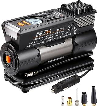 Tacklife ACP1C Auto Portable Air Compressor Pump