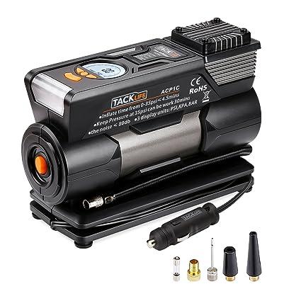 Compresor de aire/tacklife acp1 C inflador manómetro de alta definición/120 W 12