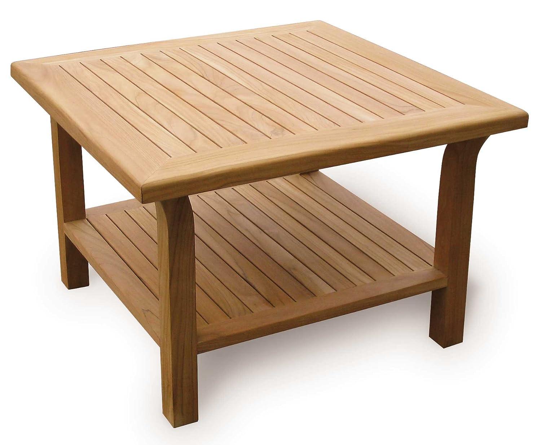 Jati Teak Garden Coffee Table Outdoor Side Table 0 9m Square