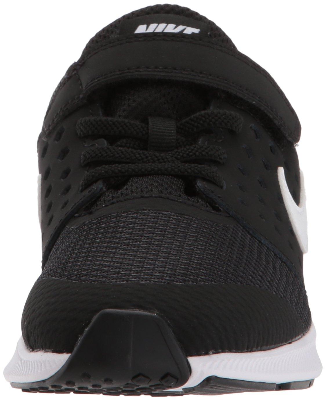 Nike Boys' Downshifter 7 (PSV) Running Shoe, Black/White-Anthracite, 3 M US Little Kid by Nike (Image #4)