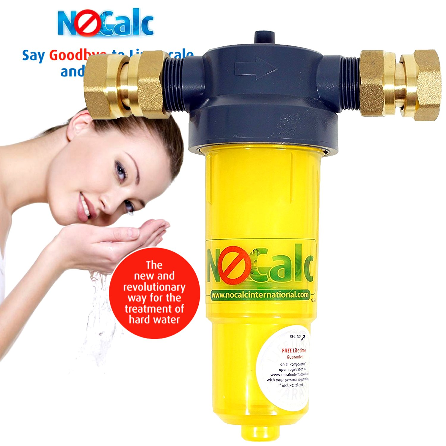 NoCalc Compact Water Softener CombiCompact Starter Pack by NoCalc CombiCompact