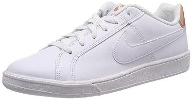new concept efbce c6fb1 Nike Court Royale Shoe, Women s Gymnastics Shoes, Multicolour (White Rose  Gold 116