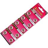 LR754 アルカリボタン電池 10個 AG5