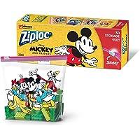 Ziploc Disney Mickey Slider Quart Storage Slider, 30 count,697238