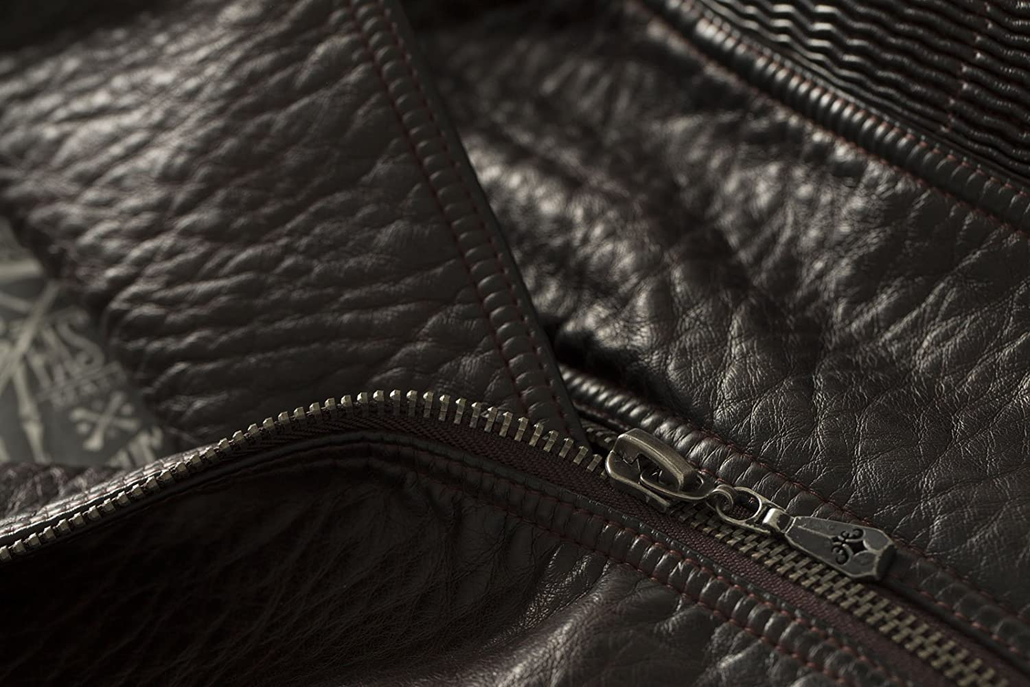 Wings Earned PU Leather Jacket By Affliction