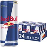 Red Bull Energy Drink 8.4 Fl Oz, 24 Pack (6 Packs of 4)