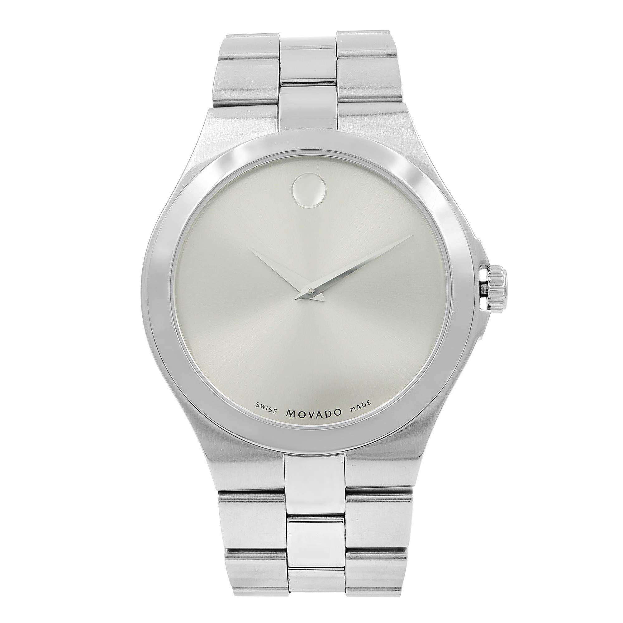 Movado Serio Quartz Male Watch 0606556 (Certified Pre-Owned) by Movado