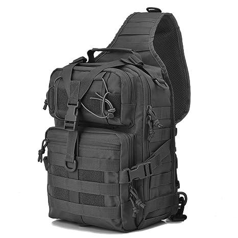 9af9de6d0 Tactical Sling Bag Pack Military Rover Shoulder Sling Backpack EDC Molle  Assault Range Bags Day Pack