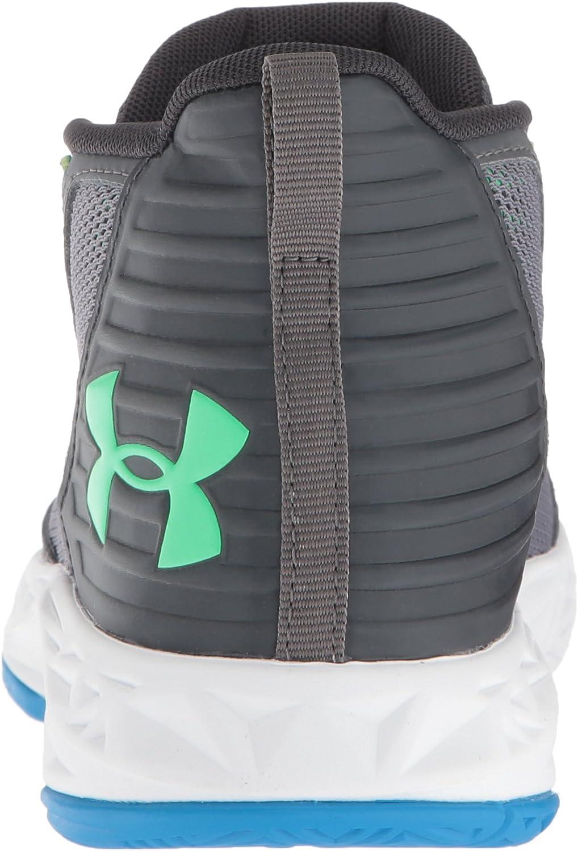 102 //White Graphite Under Armour Boys Grade School 2018 Basketball Shoe 6