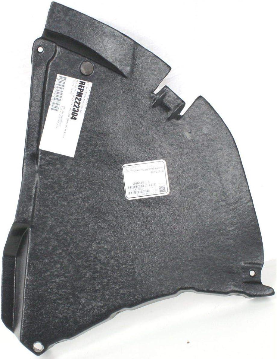 MB1250109 Fender Splash Shield for 03-06 Mercedes-Benz SL55 AMG Front LH Side