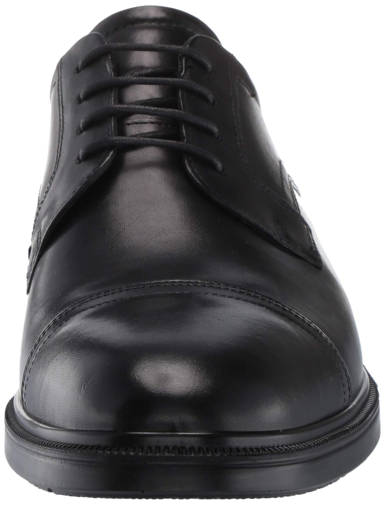 ECCO Men's Lisbon Cap Toe Tie Oxford, Black, 48 EU/14-14.5 M US by ECCO (Image #4)