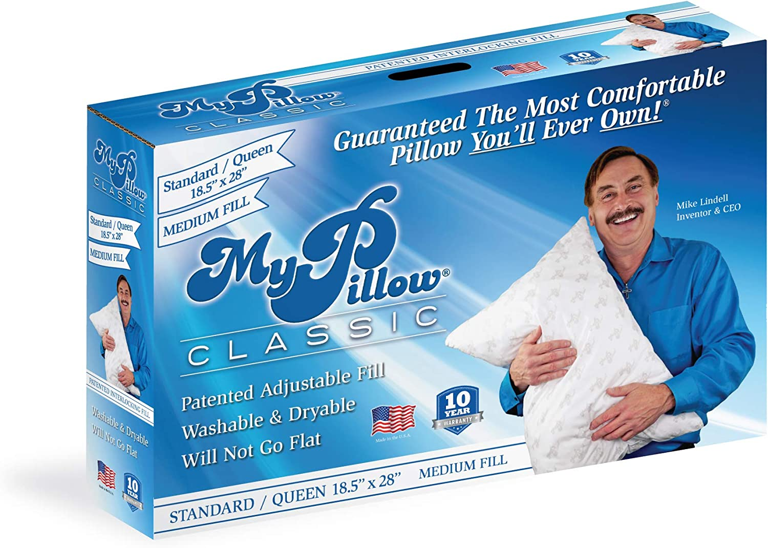 Almohada de Cuerpo Entero My Pillow Classic Series Bed