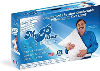 product image for MyPillow Classic Bed Pillow [Standard/Queen, Medium]