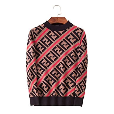 38afd483 Amazon.com: Fendi New Season Long Sleeves Shirt Hoodie Fashion Cool ...