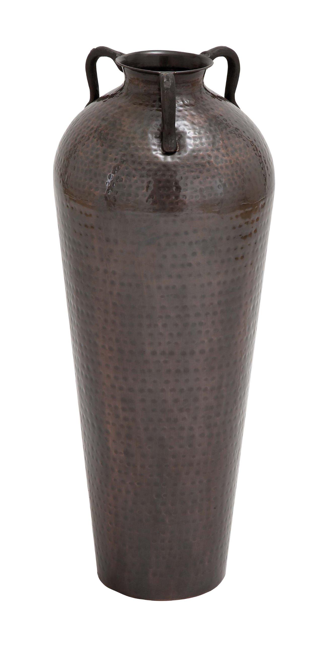 Deco 79 Metal Flower Vase, 12 by 32-Inch