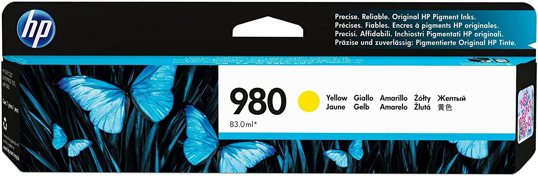 HP 980 | Ink Cartridge | Yellow | D8J09A