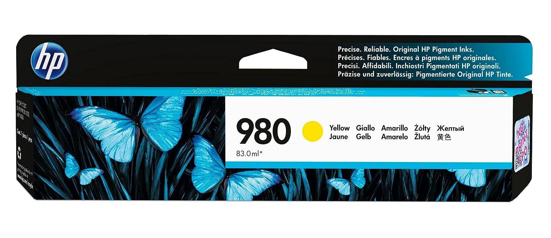 HP Tinte 980 Gelb Yellow D8J09A Office Jet Enterprise X555 X585