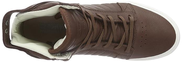 Supra Skytop Hf, Baskets Hautes Mixte Adulte - Marron - Braun (Chocolate - Off White CHO), 41 EU