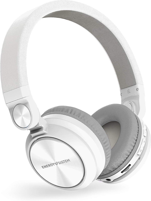Energy Headphones BT Urban 2 Radio White (Reproductor MP3 microSD, Radio, Bluetooth)