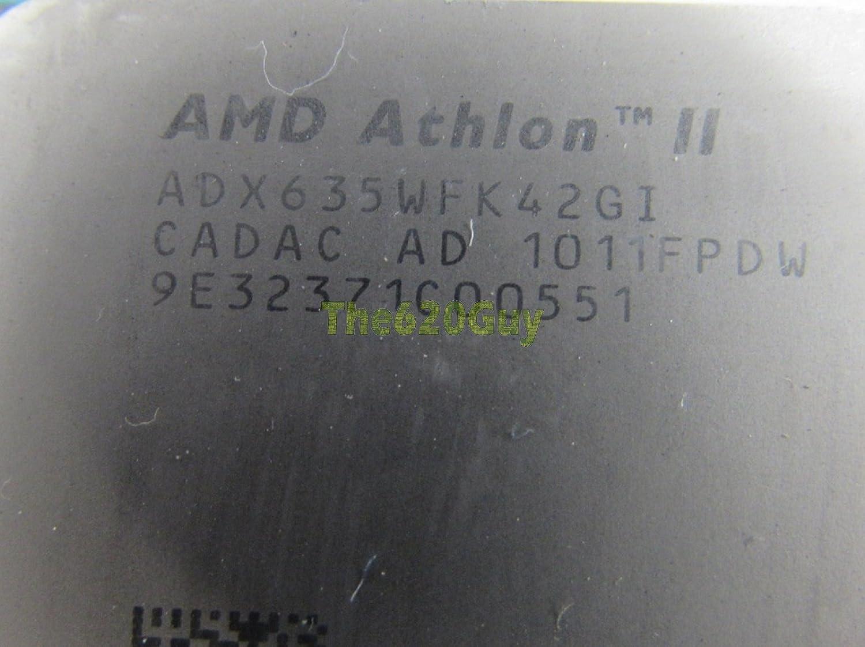 AMD ADX635WFK42GI Athlon II X4 635 2.90GHz Socket AM2+//AM3 Propus CPU Processor