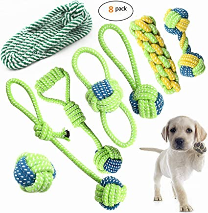 with Dog Training Whistle Petony Aggressive Durable Dog Rope Toy and Ball Teething Playing Chew Dog toys