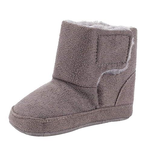 Zapatos de bebé, ASHOP Botas de Nieve Calzado recién Nacido cálido Zapatos niña niño Tacon Fiesta Zapatillas Futbol Sala: Amazon.es: Zapatos y complementos