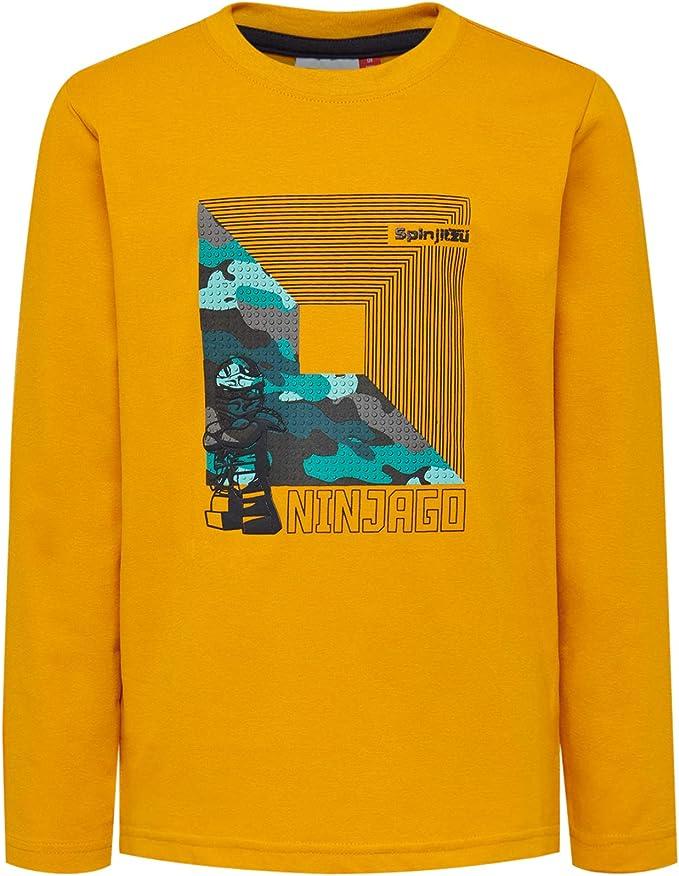 Lego Wear Lego Ninjago Cm B T-Shirt Manches Longues Gar/çon