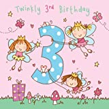 Happy 3rd Birthday Greeting Card Granddaughter Kids Milestone Age