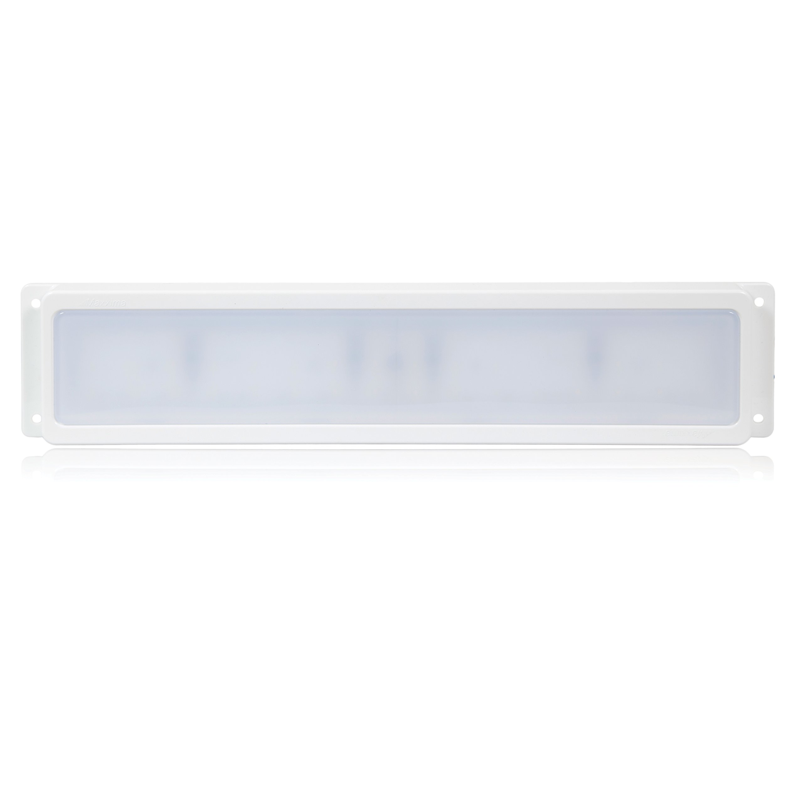 Maxxima M84440 White 800 Lumens Rectangular Surface Mount Interior LED Cargo Light by Maxxima