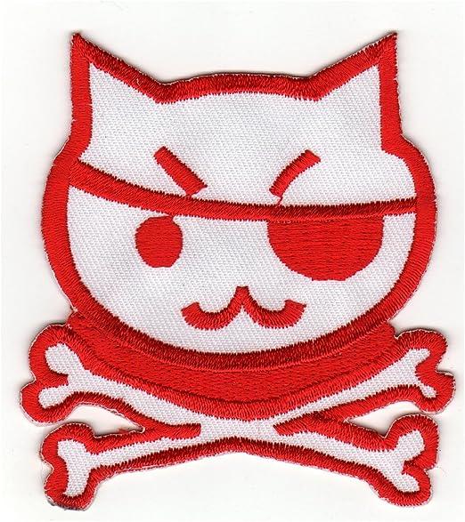 Parche con plancha applikation Iron on patches pirata calavera ...