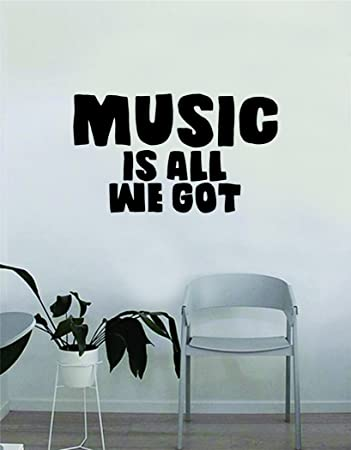Amazoncom Chance The Rapper Music Is All We Got Quote Decal