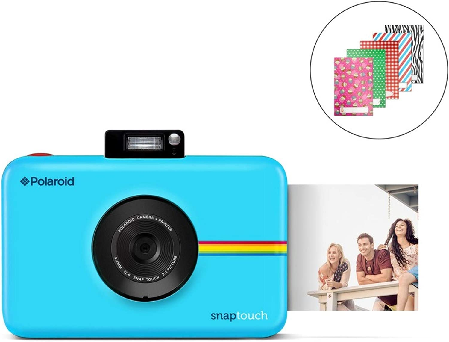 Zink Polaroid SNAP Touch 2.0 – 13MP Portable Instant Print