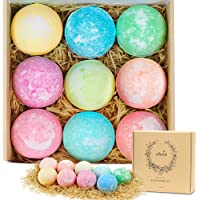 Efloral 9-Piece Large Natural Organic Relax Bath Spa Bomb Kit