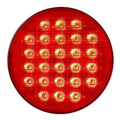 "Grand General 74892 Red 4"" Smart Dynamic LED Sealed Light: Automotive"