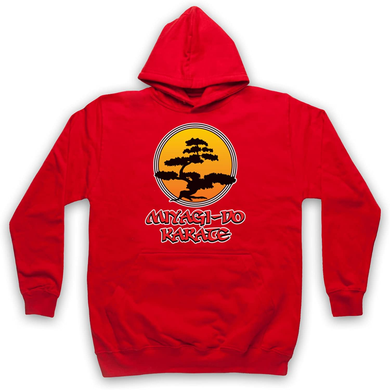 Inspirado por Karate Kid Miyagi Do Logo Bonsai Tree No Oficial Adultos Sudadera con Capucha