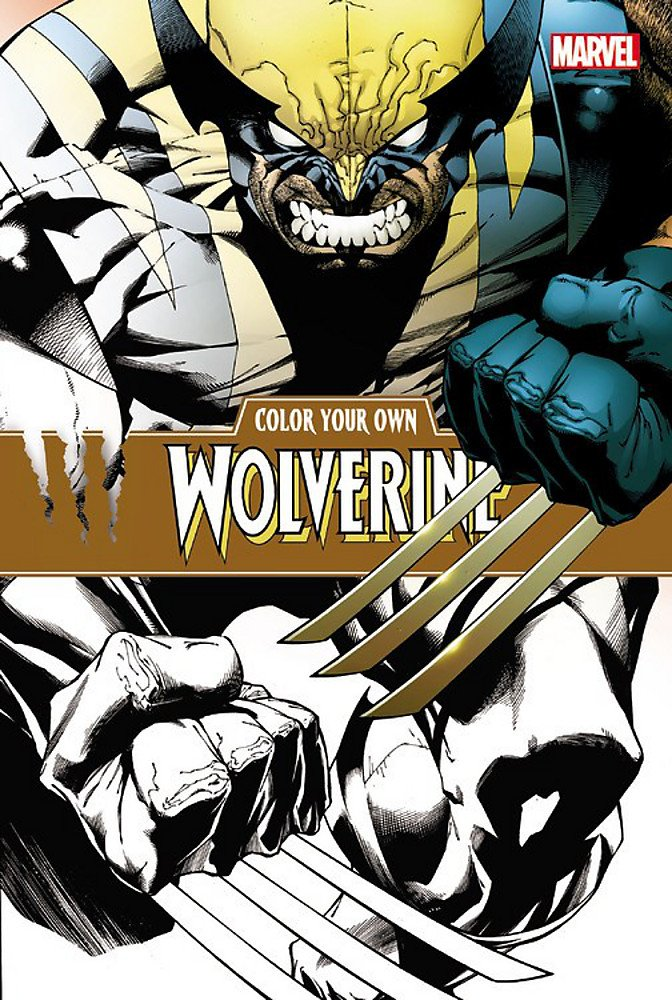 Read Online Color Your Own Wolverine ebook
