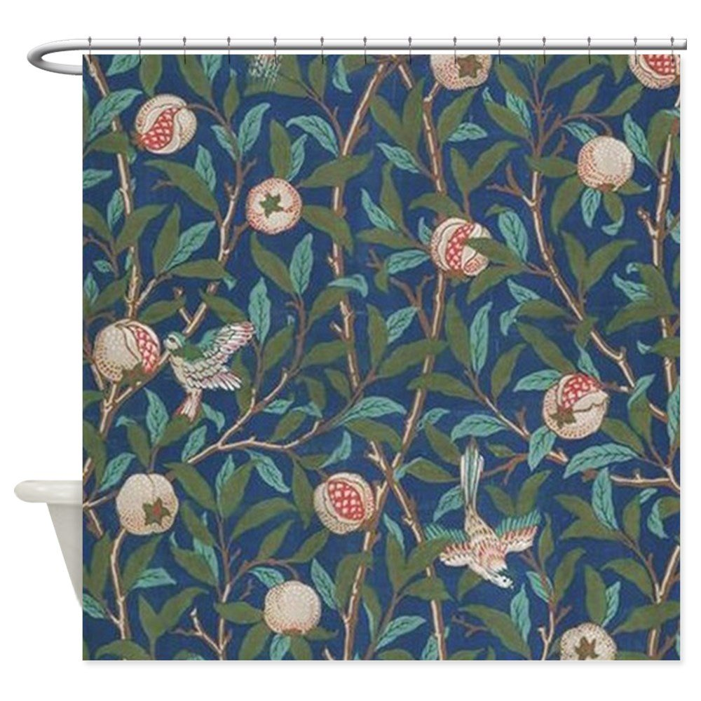 Amazon CafePress Bird And Pomegranate By William Morris Shower Curt Decorative Fabric Curtain 69x70 Home Kitchen