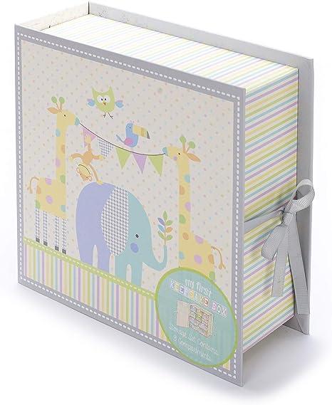 Tri-Coastal Design - Caja de Primeros Recuerdos de Bebé Con 9 ...