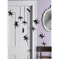 Martha Stewart Crafts Glittered Spider Silhouettes