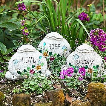 Figura Decorativa para jardín La Imitación De Piedra Volver Rana De Resina Impermeable Del Paisaje Del