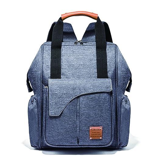 Haken Wasserdicht Mamabeutel Backpack Babytasche Wickelrucksack Windel mit USB