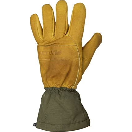 Seirus Innovation 1424 Mens Polartec All Weather Leather Glove Form Fit Fleece Lined